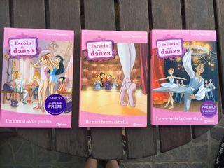 """Pack 3 Libros """"Escuela De Danza"""""""