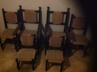 Sillomes y sillas epoca