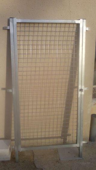 Puerta para perrera, gallinero, vallado....