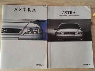 Astra g catalogo especificaciones