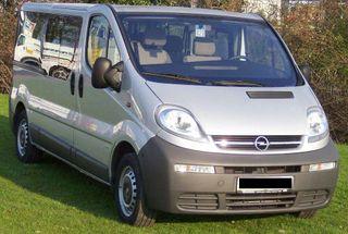Piezas de Opel vivaro, Renault trafic y Nissan primastar