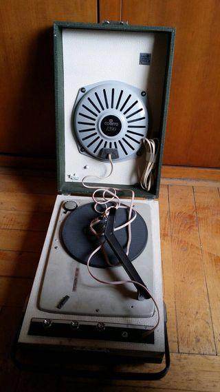 Tocadiscos Antiguo Años 60-70