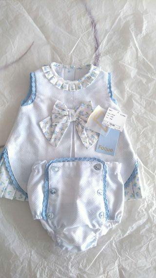 Vestido bebé talla 3meses