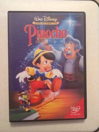 PINOCHO Walt Disney Dvd