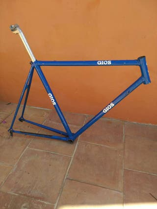 Cuadro de bicicleta acero