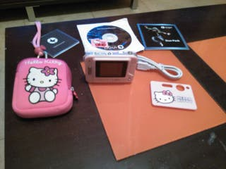 Cámara digital Hello Kitty.