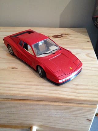 Maqueta Ferrari !