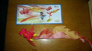 Figura kinder dragón FF079 +bpz