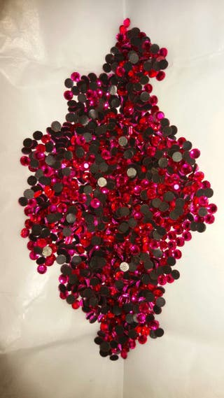 Cristales strass , hotfix , de colores