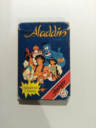 Baraja de cartas Aladdin