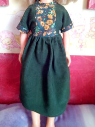 Vestido nancy años 70