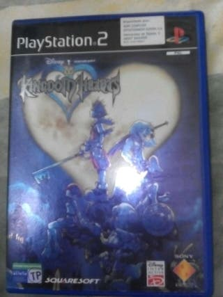 Caja original de kingdom hearts