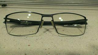 Montura de gafas de acero quirurgico