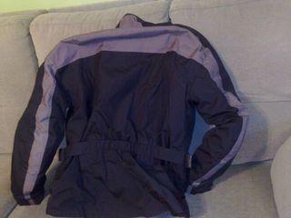 Trajes de cordura, hombre y mujer, completos, con ropa interior térmica, botas, guantes, cascos, etc