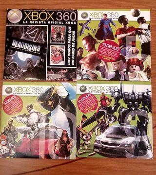 LOTE 4 DISCOS DE DEMOS XBOX 360