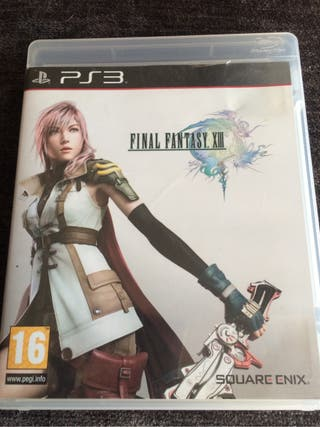 Final Fantasy XIII Para PS3