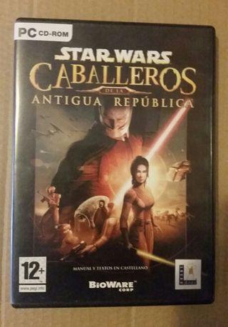 Star Wars Caballeros de la Antigua República (PC)