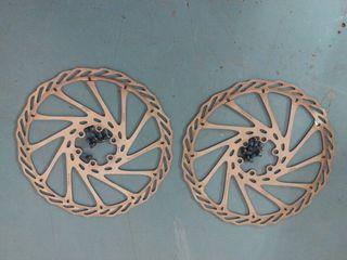 Discos de frenos para bicicleta