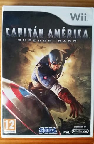 Capitán América supersoldado - juego para Wii