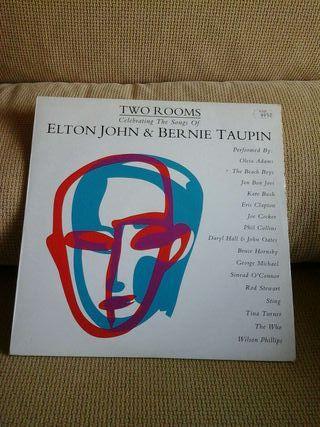 LP de ELTON JOHN & BERNIE TAUPIN (DOBLE LP)