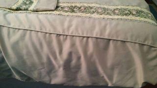 colcha antigua cama 90