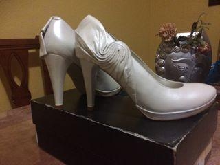 Zapatos De Novia de piel Sin Estrenar