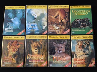 8x DVD's National Geographic