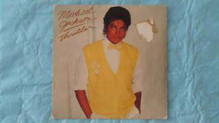 Single thriller. Michael Jackson.