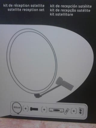 Kit de recepcion satelite