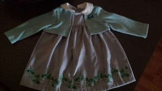 Vestido bebe 4-6 meses