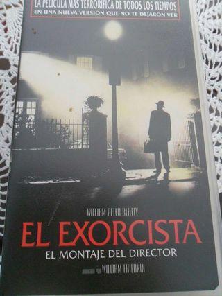Pelicula El Exorcista en VHS
