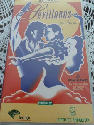 Película Sevillanas de Carlos Saura en VHS
