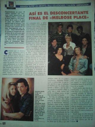 Reportajes de la serie Melrose Place