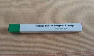 Vendo bombilla halogena de 100w y 189mm