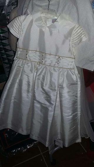 Vestidos ceremonia niña T.5años