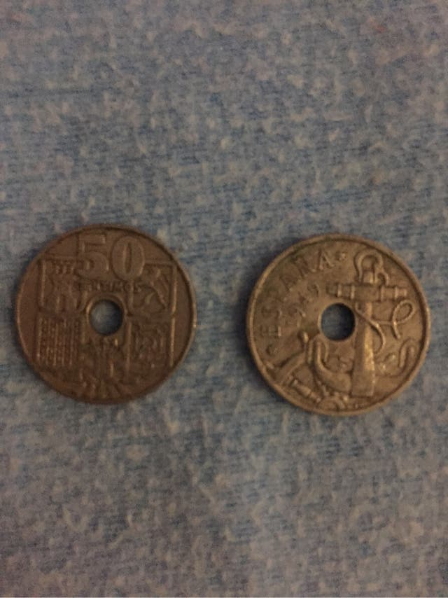 50 centimos española