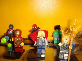 Superheroes vengadores lego. Precio por unidad