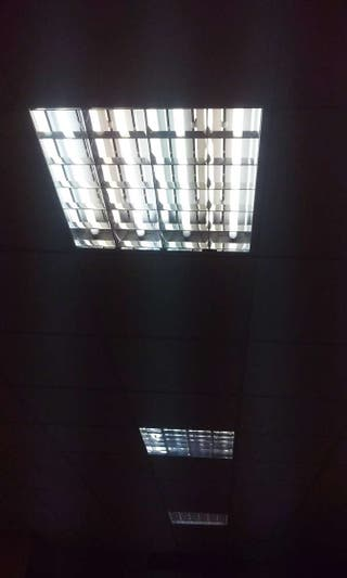 Luminarias para techos rejistrables