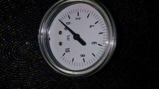 Reloj barometro