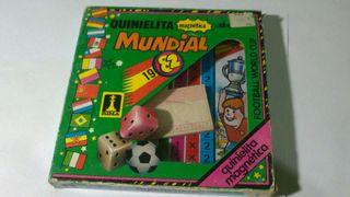 Quinielita magnetica del mundial 1982