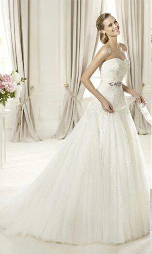 vestido de novia pronovias de segunda mano en jaén en wallapop