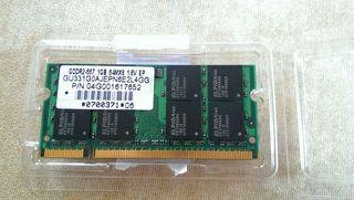 Memoria RAM DDR2 Sodimm 1gb