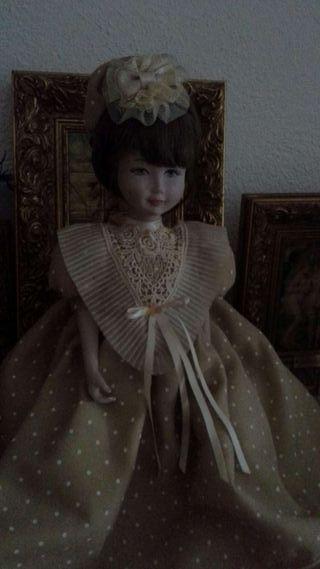 Muñeca de Porcela Antigua