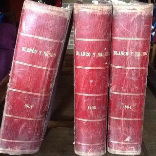 """Libros Antiguos """"Blanco Y Negro"""""""
