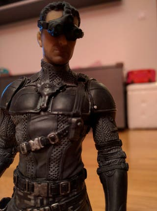 Figura Sam Fisher de Splinter Cell Black