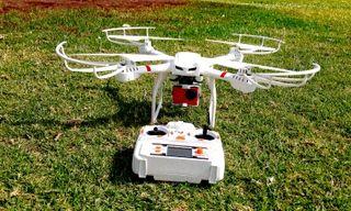 Oferta Drone exterior + Accesorios