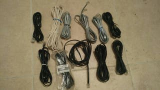 Cables de teléfono varias medidas