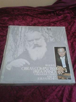 Brahms- Obras completas para piano, violin y piano