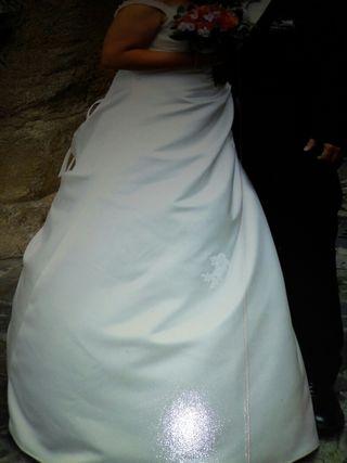 vestido de novia de segunda mano en cáceres en wallapop