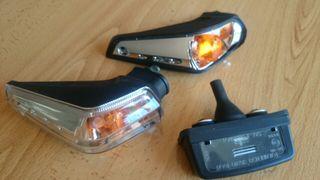 Intermitentes y luz portamatriculas Suzuki GSR 600cc